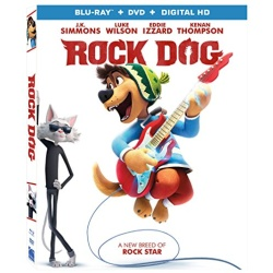 Rock Dog Blu-ray Cover