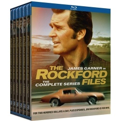Rockford Files: The Complete Series Blu-ray Cover