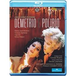 Rossini: Demetrio E Polibio Blu-ray Cover