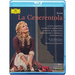 Rossini: La Cenerentola Blu-ray Cover
