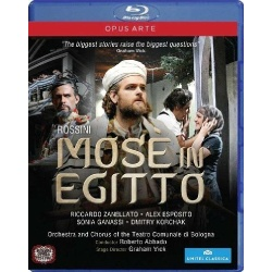 Rossini: Mose in Egitto Blu-ray Cover