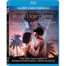 Rules Don't Apply Blu-ray Cover