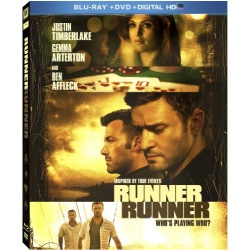 Runner Runner Blu-ray Cover
