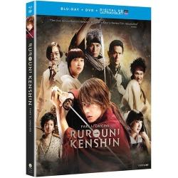 Rurouni Kenshin Part I: Origins Blu-ray Cover