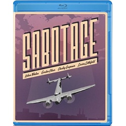 Sabotage Blu-ray Cover