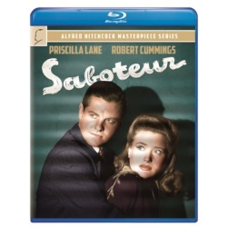 Saboteur Blu-ray Cover
