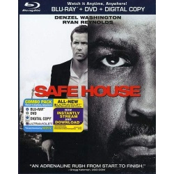 Safe House Blu-ray Cover