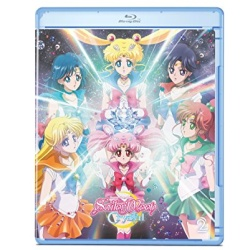 Sailor Moon Crystal: Set 2 Blu-ray Cover