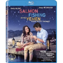 Salmon Fishing in the Yemen Blu-ray Cover