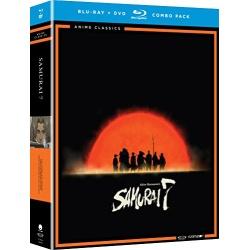 Samurai 7: The Complete Series Blu-ray Cover