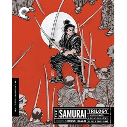 Samurai Trilogy Blu-ray Cover