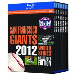 San Francisco Giants: 2012 World Series Blu-ray Cover