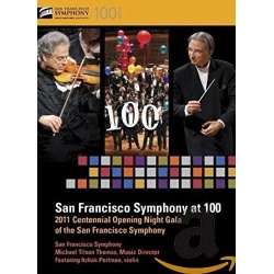 San Francisco Symphony at 100 Blu-ray Cover