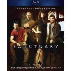 Sanctuary: The Complete Fourth Season Blu-ray Cover