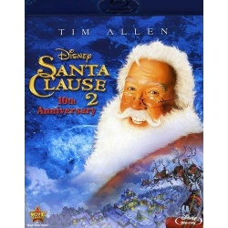 Santa Clause 2 Blu-ray Cover