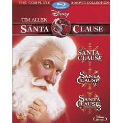 Santa Clause: 3 Movie Collection Blu-ray Cover