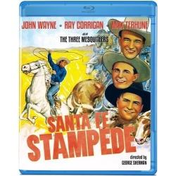 Santa Fe Stampede Blu-ray Cover