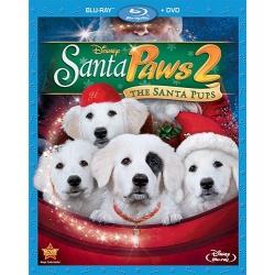 Santa Paws 2: The Santa Pups Blu-ray Cover