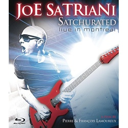 Satchurated: Live in Montreal Blu-ray Cover