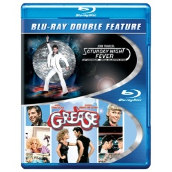 Saturday Night Fever / Grease Blu-ray Cover
