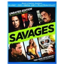 Savages Blu-ray Cover