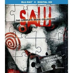Saw: Complete Movie Collection Blu-ray Cover