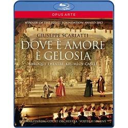 Scarlatti: Dove e Amore e Gelosia Blu-ray Cover