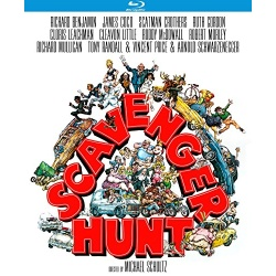 Scavenger Hunt Blu-ray Cover