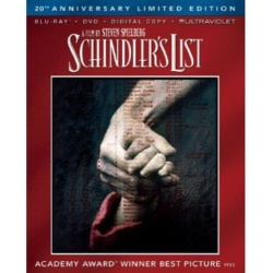 Schindler's List Blu-ray Cover