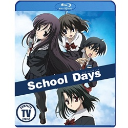 School Days Blu-ray Cover