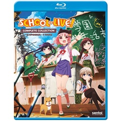 School-Live! Blu-ray Cover