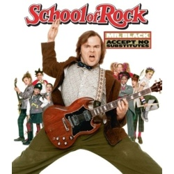 School of Rock Blu-ray Cover