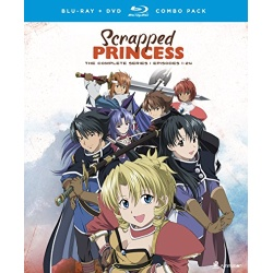 Scrapped Princess: The Complete Series Blu-ray Cover