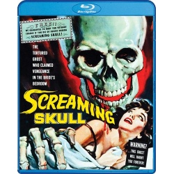 Screaming Skull Blu-ray Cover