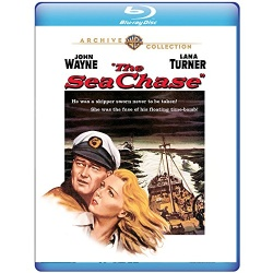 Sea Chase Blu-ray Cover