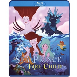 Sea Prince and the Fire Child Blu-ray Cover