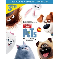 The Secret Life of Pets Blu-ray 3D