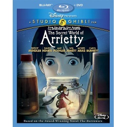 Secret World of Arrietty Blu-ray Cover
