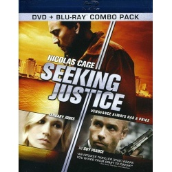 Seeking Justice Blu-ray Cover