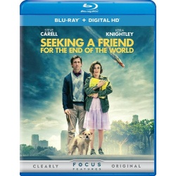 Seeking a Friend for the End of the World Blu-ray Cover