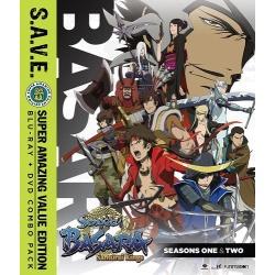 Sengoku Basara: Samurai Kings Blu-ray Cover