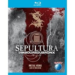 Sepultura & Les Tambou Du Bronx: Metal Veins Blu-ray Cover