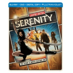 Serenity Blu-ray Cover