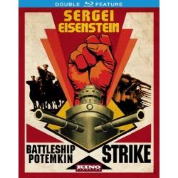 Sergei Eisenstein: Battleship Potemkin / Strike Blu-ray Cover