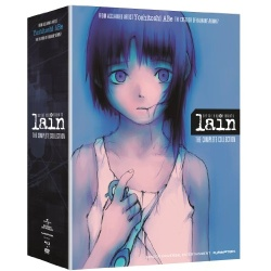 Serial Experiments Lain: The Complete Series Blu-ray Cover