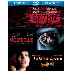 Seven / Copycat / Taking Lives Blu-ray Cover
