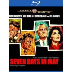 Seven Days in May Blu-ray Cover