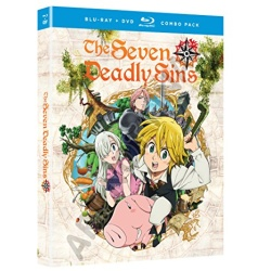 Seven Deadly Sins: Season 1 - Part One Blu-ray Cover