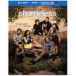 Shameless: The Complete 3rd Season Blu-ray Cover