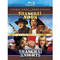 Shanghai Noon / Shanghai Knights Blu-ray Cover